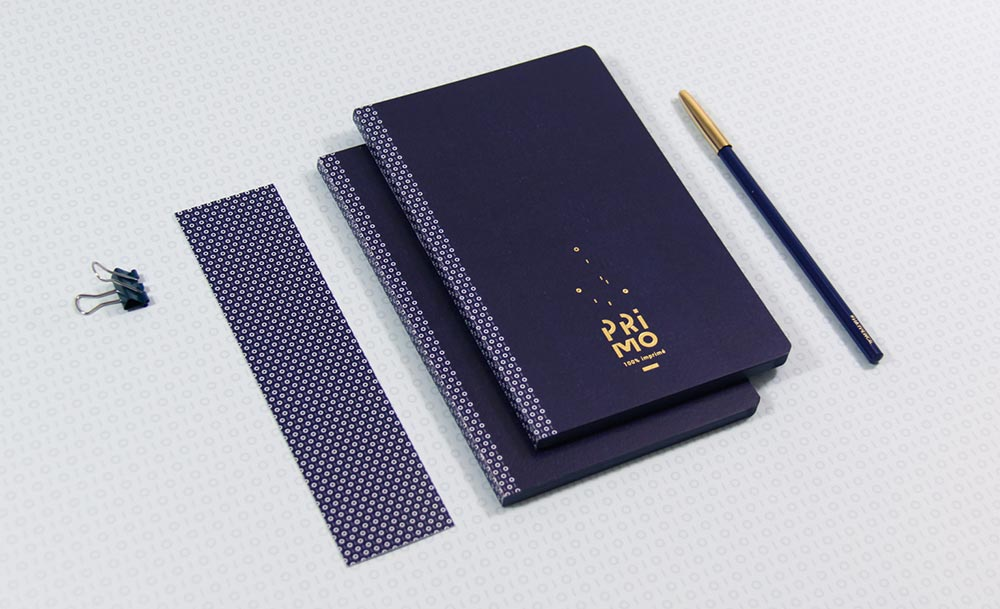 Carnet Notes Souple A6 Broche Primo