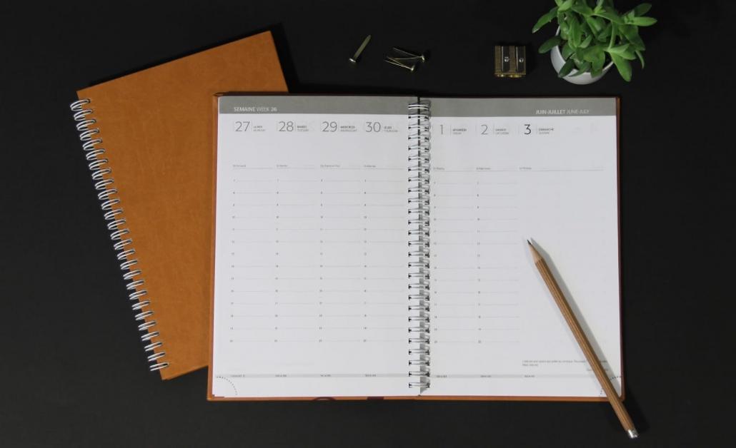 Agenda Bureau V24 Interieur