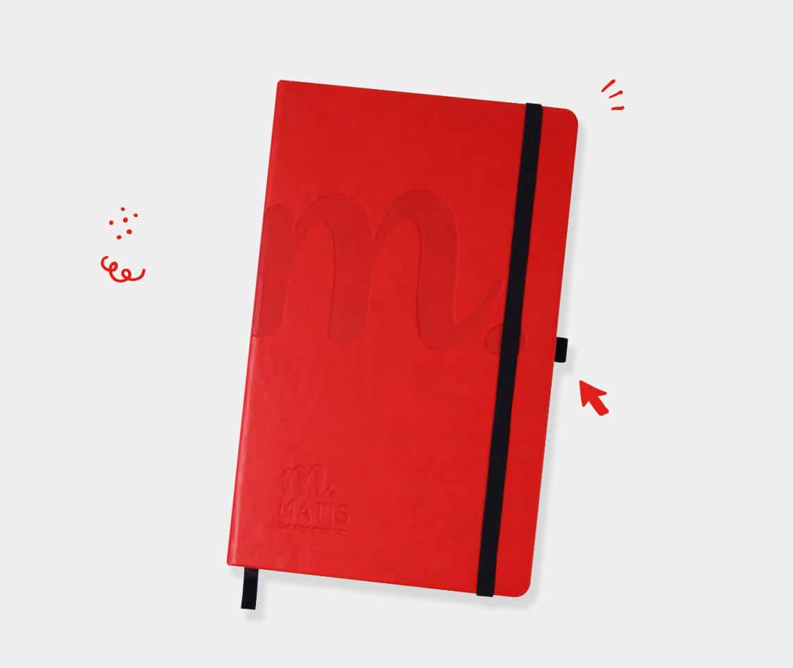 Notebook A5 Cuir Matis Img01