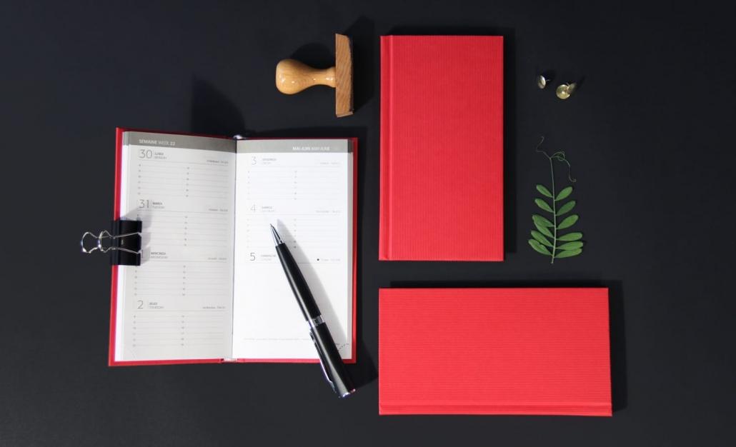 Agenda Couverture Papier Vachon