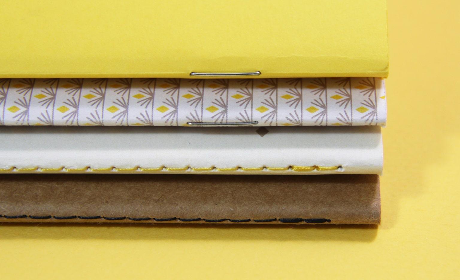 Kalepin Carnet publicitaire personnalisé agrafé ou cousu Vachon