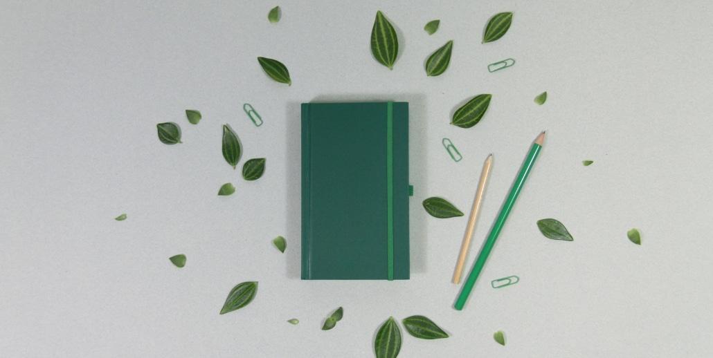 agenda papier recycle