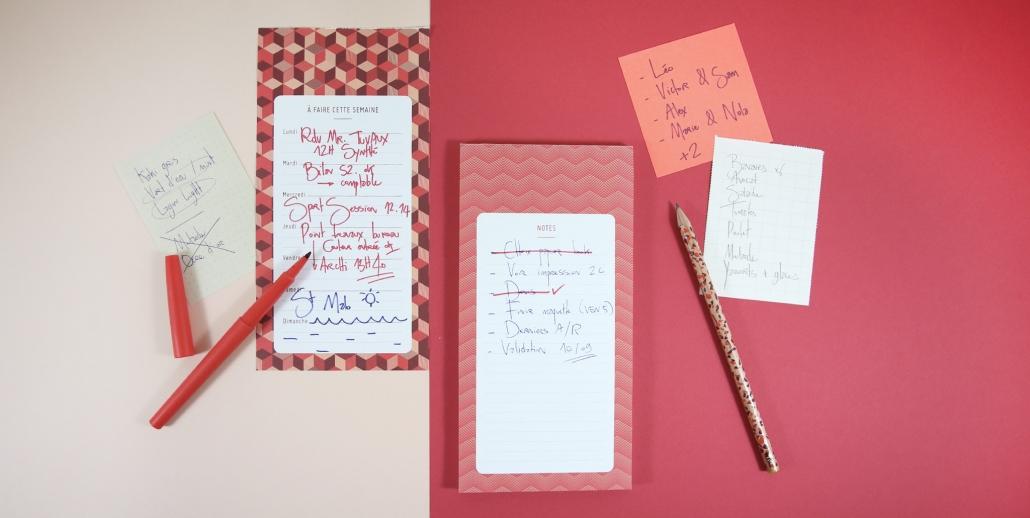 Ces listes qui nous font avancer : to do list, wish list et bucket list